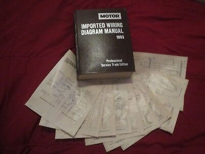 93 1993 mazda protege owners manual $12 00 picclick1993 mazda protege and 323 wiring diagrams schematics set