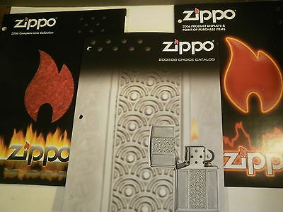 3 Zippo Lighter Collection Guides Collectible Books New Rare Advertisement