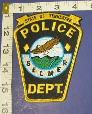 Selmer Tennesee Police Shoulder Patch