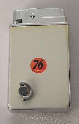 RARE 1950/60's Unused Boxed Union 76 Oil Co. Crown Musical Lighter in Orig. Box