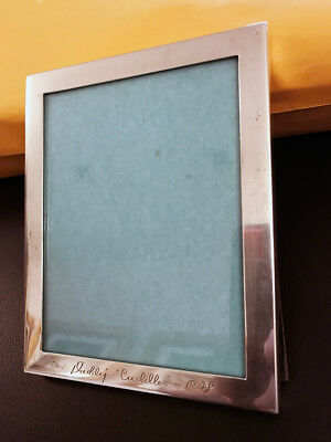 1970S ANTIQUE TIFFANY & CO. STERLING SILVER PICTURE FRAME WOOD BACK ...