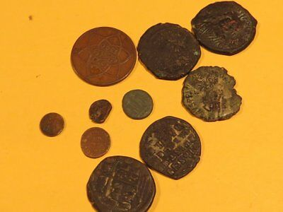 Mixed Lot Of Rare Ancient Coins, Roman, Byzantine, Etc.
