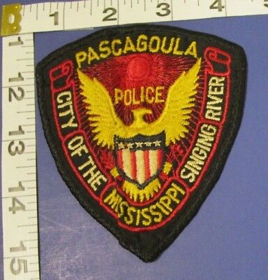 Pascagoula Mississippi Police Shoulder Patch