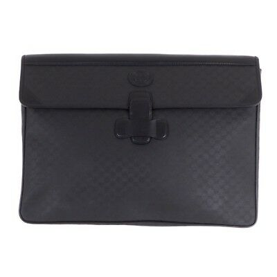 785dee6a942 VINTAGE GUCCI XL Jumbo Monogram Excellent Laptop Case Clutch Bag ...
