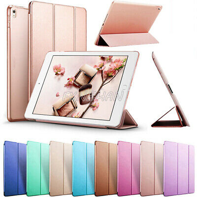 "For iPad 6th Generation 9.7"" 2018 A1893 A1954 Smart Slim Leather Case Cover+Film"