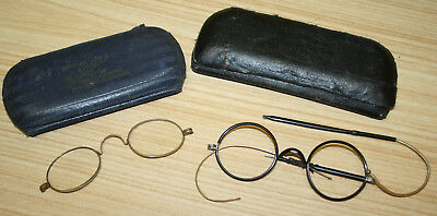 Vintage Spectacles Glasses In Cases