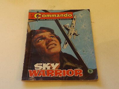 Commando War Comic Number 175!,1965 Issue,v Good For Age,53 Years Old,very Rare.