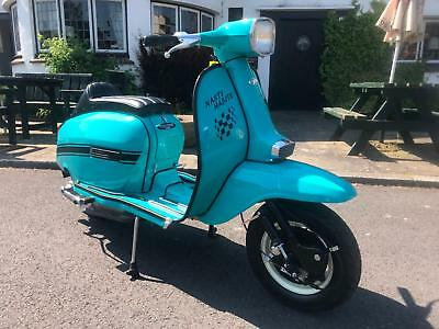 Lambretta GP 125 with upgrades  ITALIAN