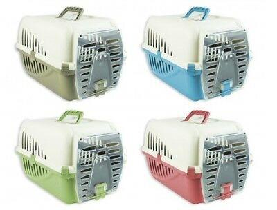 Universal Small Pet Animal Carrier Cage Travel Box Cat Rabbit Guineapig Dog 50cm