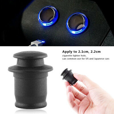 Universal Outlet Cover Cap Plug for Car Cigarette Lighter Socket Waterproof Cap
