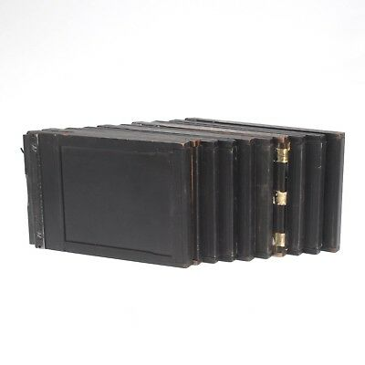 Lot of Ten Mixed Brand 4x5 Sheet Film Holders For Various Large Format Cameras