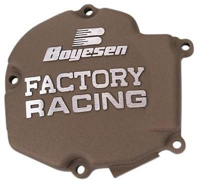Boyesen Factory Racing Ignition Cover Magnesium SC-11AM Kawasaki KX125 2003-2005