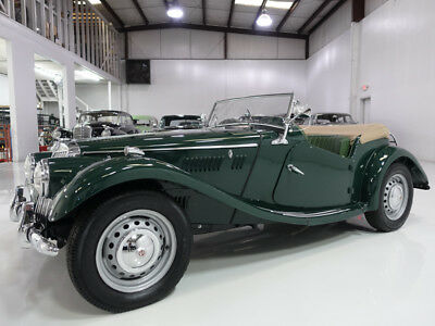1954 MG TF Roadster | Body-off-frame restoration! 1954 MG TF Roadster | Only 30,505 believed-to-be actual miles