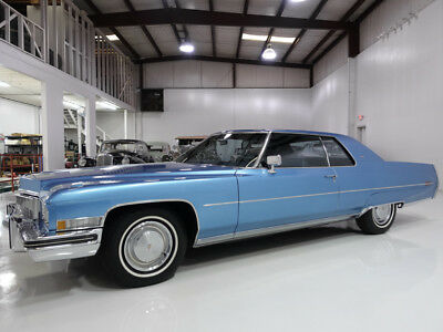 1973 Cadillac DeVille Only 19,626 actual miles! 1973 Cadillac Coupe deVille | Numbers matching 472ci V8 | Original interior