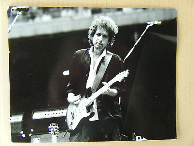 BOB DYLAN - Milano 1984 - foto real photo vintage