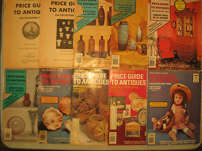 10 THE ANTIQUE TRADER PRICE GUIDE TO ANTIQUES & Collector's Items, Reference