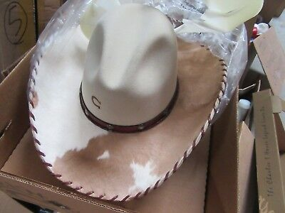 049538dde88 CHARLIE 1 HORSE Size 7 Bandito Gus Creased Western Hat -  25.95 ...