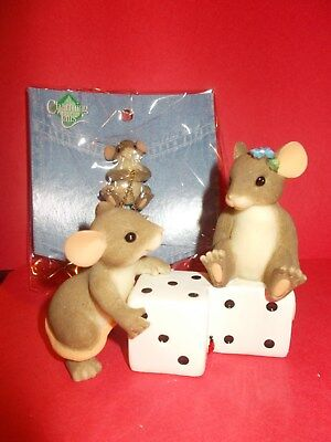 """#121 Charming Tails """"you're Worth The Gamble""""  97/38 - Handcrafted"""