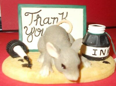 """#102 Charming Tails """"thank You""""  98/700 - Signed """"thank You! Dean Griff """"98"""