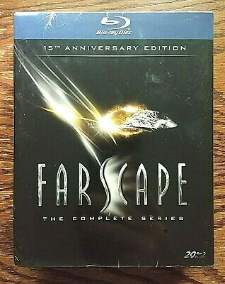 Farscape Complete Series Blu-ray NEW Sealed 20 Disc US 15th Anniv. Comic OOP