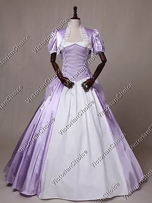 Victorian Princess Brocade Bustle Dress Gown Game Of Thrones Cosplay N 329 XL