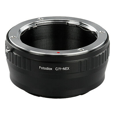 Fotodiox Lens Adapter Contax/Yashica (CY) Lens to Sony E-Mount/NEX