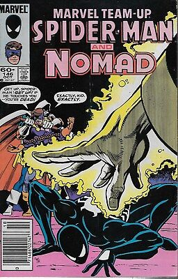 Marvel Team-up No.146 / 1984 Spider-Man & Nomad / Cary Burkett & Greg LaRocque