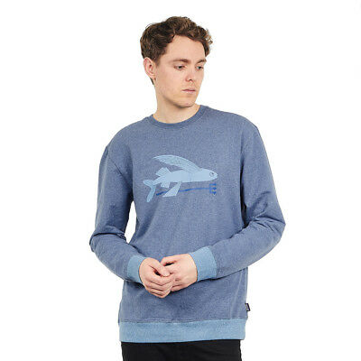 Patagonia - Flying Fish Midweight Crew Sweatshirt Dolomite Blue Pullover
