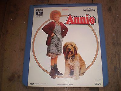 Annie Vintage Video Disc,Great Condition,Collectors Item.rare,Albert Finney