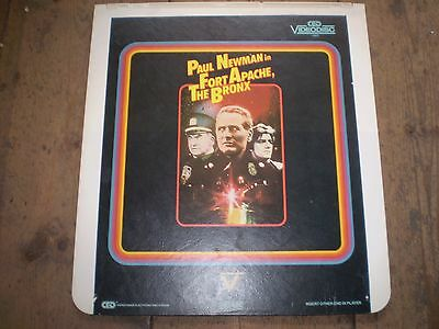 Fort Apache,Paul Newman Vintage Video Disc,Great Condition,Collectors Item