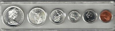 Canada - 1967 Mint Set In A Hard Plastic Holder