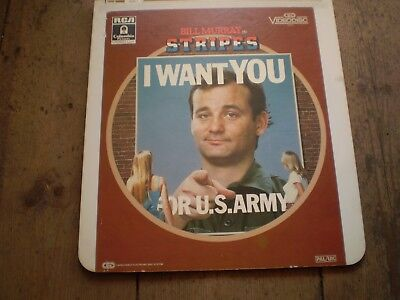 Stripes Starring Bill Murray,Vintage Video Disc Collectors Item