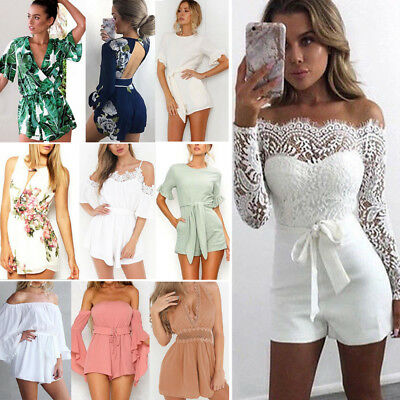 Women Clubwear V-Neck Playsuit Bodycon Party Jumpsuit&Romper Hot Short Pants Lot
