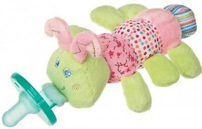 Nwt Mary Meyer Wubbanub Infant Pacifier : Permanently Attached Pacifier W/animal