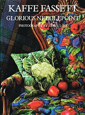 Kaffe Fassett Glorious Needlepoint Hardback Book The Cheap Fast Free Post