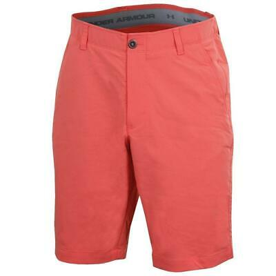 Under Armour Golf 2018 Match Play Taper Shorts (Vermillion)