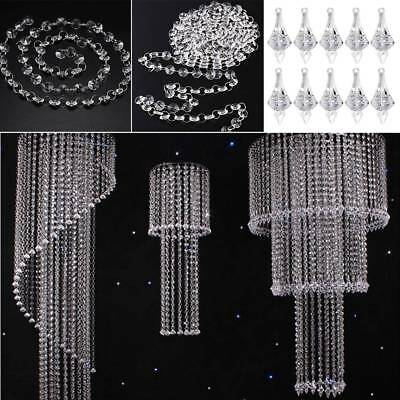 Crystal Glass Bead Curtain Luxury Wedding Bedroom Living Room Window Door  Decor