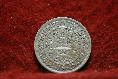 Morocco, AH1366 10 Francs, Y44, Extremely Fine, No Reserve,                 34eb