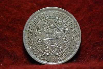 Morocco, AH1366 20 Francs, Y45, Extremely Fine+, No Reserve,                34eb