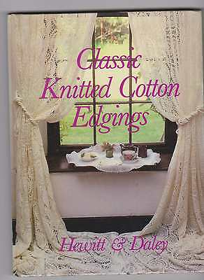 Classic Knitted Cotton Edgings  Lace Book Furze Hewit