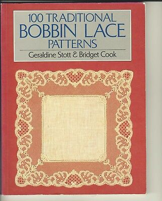 100 Traditional Bobbin  Lace Patterns Book