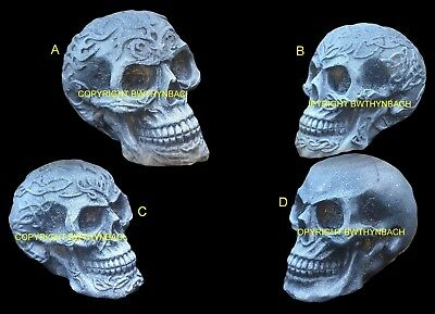 New Designs Latex Molds Moulds To Make Small Detailed Ornament Skull 4 Designs