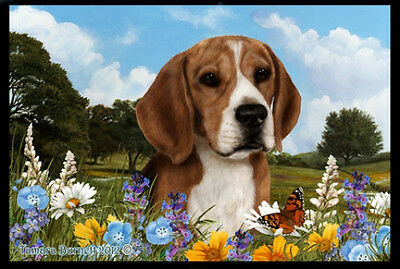 Indoor/Outdoor Summer Floor Mat - Beagle (TB) 39007