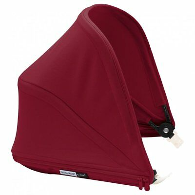 NEW Bugaboo Bee 5 Sun Canopy Baby Pushchair/Pram Accessory Sun Protection Red