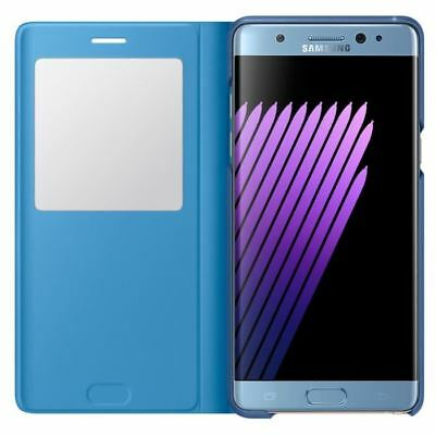 SAMSUNG S View Cover Stand Note 7 Bleu