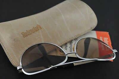Vintage 1970s Rodenstock Colormatic sunglasses. +case+manual. 135mm width.