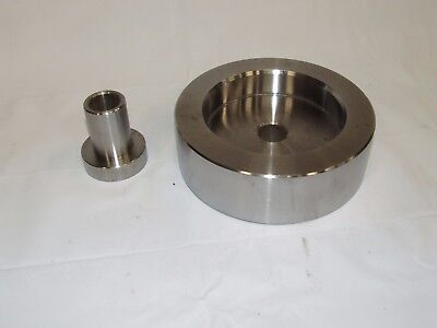 "AMMCO 940928 4X4 PRESSED HUB ROTOR ADAPTER Chevy Dodge BRAKE LATHE 1"" Arbor 3/4T"