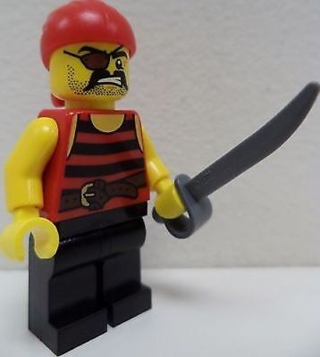 Eye Patch 6100225 Body Part Lego Pirate Mini NEW Figure Head //Girl