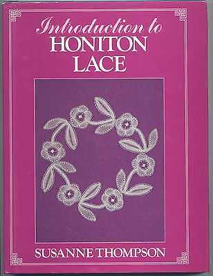 Introduction To Honiton Lace Book Susanne Thompson