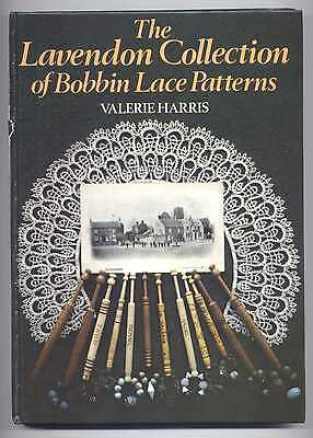 THE LAVENDON COLLECTION OF BOBIN LACE PATTERNS LACE history BOOK